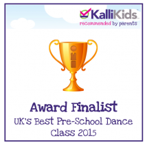 KalliKids Awards UK's Best Pre-School Dance Class 2015 Finalist.png